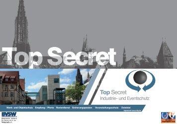 Als PDF downloaden - TopSecret Industrie- und Eventschutz UG