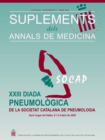 Annals - PDF - Societat Catalana de Pneumologia