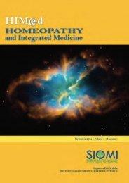 HIMed - Anno 3, numero 1 - Maggio 2012 - SIOMI