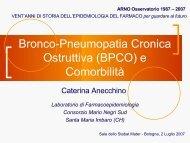 Bronco-Pneumopatia Cronica Ostruttiva - CINECA Live Streaming