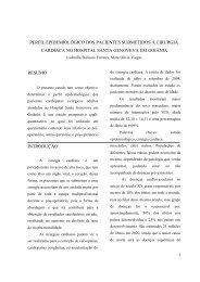 Perfil epidemiológico dos pacientes submetidos à cirurgia ... - Ucg
