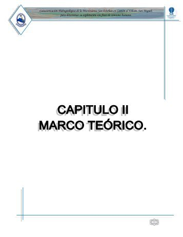 Capítulo II. Marco teórico