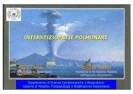 INTERSTIZIOPATIE POLMONARI - II Università degli Studi di Napoli