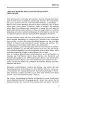 Editorial - Kurt Tucholsky-Gesellschaft