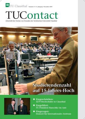 2. Ausgabe 2009 - TU Clausthal