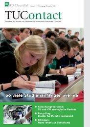 2. Ausgabe 2011 - TU Clausthal