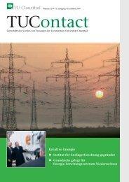 2. Ausgabe 2007 - TU Clausthal