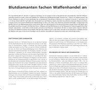 Blutdiamanten fachen Waffenhandel an - TU Clausthal