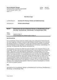 Vorlage 305/2012 vom 11.07.2012 - in Tübingen