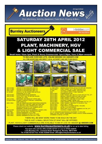 Auction News Apr 23 12 - Auction News Services