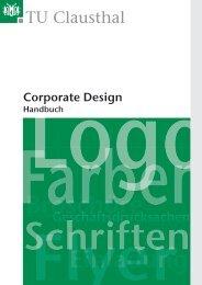 Corporate Design Handbuch (pdf) - TU Clausthal