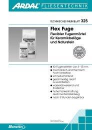 Flex Fuge - Bostik