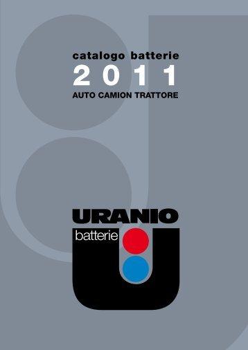 catalogo batterie - Conti, Andrea