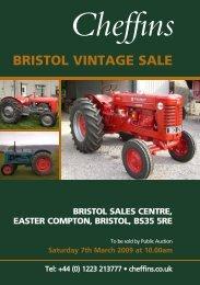 bristol vintage sale - Cheffins