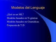 Modelos del Lenguaje