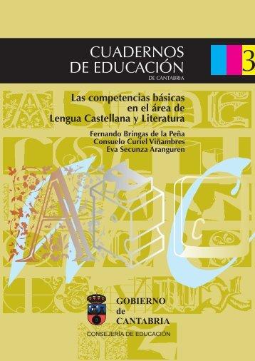 Las competencias básicas en el área de Lengua ... - Educantabria