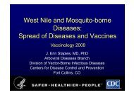 Spread of Diseases and Vaccines - GLOBE