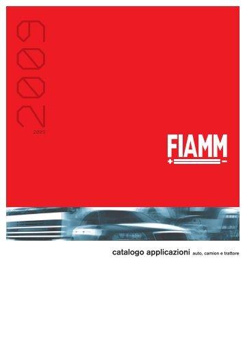 catalogo applicazioni auto, camion e trattore