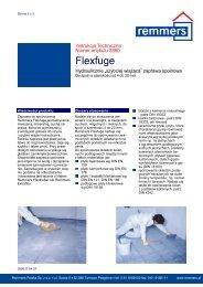Flexfuge - Remmers Polska Sp. z oo