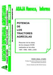 potencia de los tractores agrícolas - Universidad de La Rioja