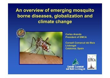 An overview of emerging mosquito borne diseases, globalization ...
