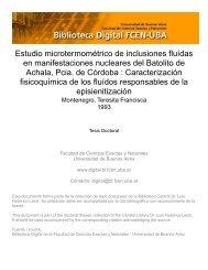 el documento - Biblioteca Digital FCEN-UBA - Universidad de ...
