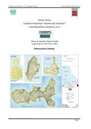 Piano di Classifica degli Immobili per l'Arcipelago Toscano