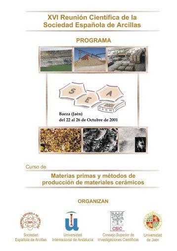 Materias primas y métodos de producción de materiales cerámicos ...