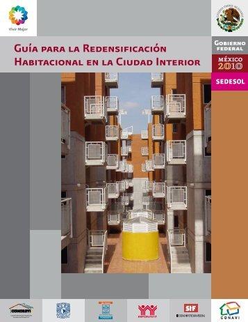 Guía para la Redensificación Habitacional en la Ciudad Interior
