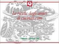Le ricette degli amici di cucinait.com - La Cucina Italiana