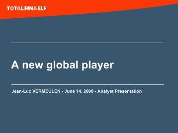 Jean-Luc Vermeulen - Total.com