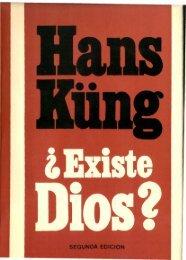 Hans Kung – ¿ Existe Dios?