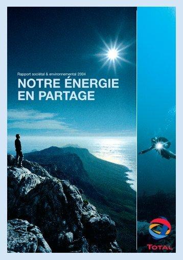 Rapport complet en français (pdf - 5,88 Mo) - Total.com
