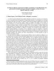 Teresa Jiménez Calvente eHumanista: Volume 5, 2005 48 La Oratio ...