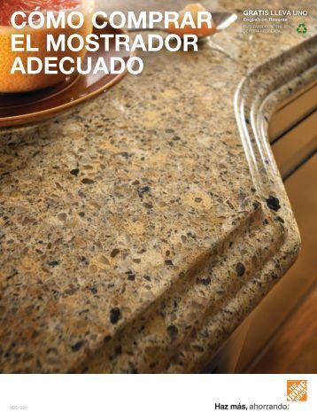 Where To Buy Countertops : CoMO COMPRAR EL MOSTRADOR ADECUADO - Home Depot