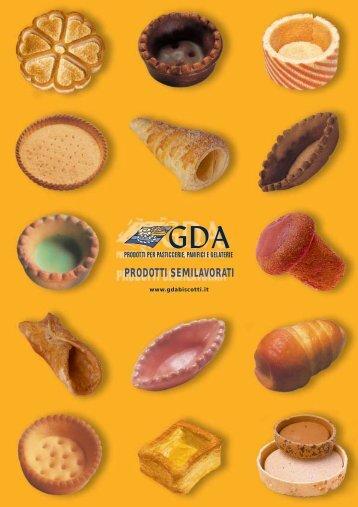 PRODOTTI SEMILAVORATI - gda biscotti