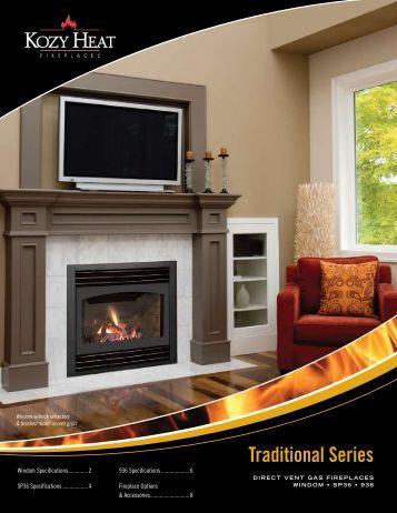 Slayton Gas Fireplace Kozy Heat Fireplaces