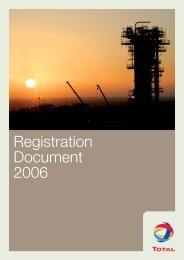 Registration document 2007 - Total.com