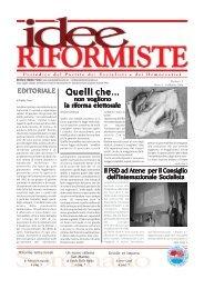 IDEE RIFORMISTE FEBBRAIO 2006.pmd - PSD