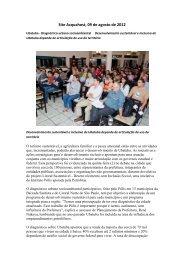 Ubatuba Diagnóstico urbano socioambiental ... - Polis