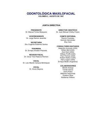 Odontologica Maxilofacial Vol 2 - ACCOMF