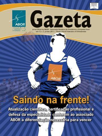 Ano 12 - Associação Brasileira de Ortodontia - Ortopedia Facial