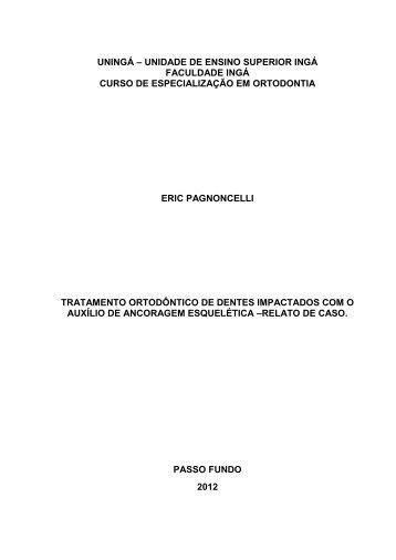 Tratamento Ortodôntico de Dentes Impactados - CEOM   Centro de ...