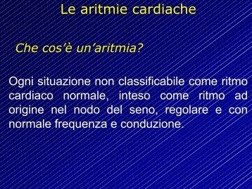 Le aritmie cardiache - Cuorediverona.it
