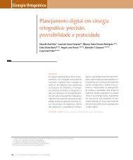 Planejamento digital em cirurgia ortognática ... - Dental Press