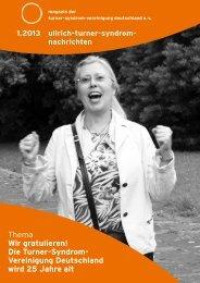Nummer 1 - Deutsche Ullrich-Turner-Syndrom Vereinigung e.V.