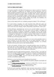 Reforma Ortográfica - Colégio Alto Padrão