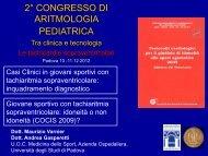 Maurizio Varnier e Andrea Gasperetti - Aritmologia pediatrica tra ...