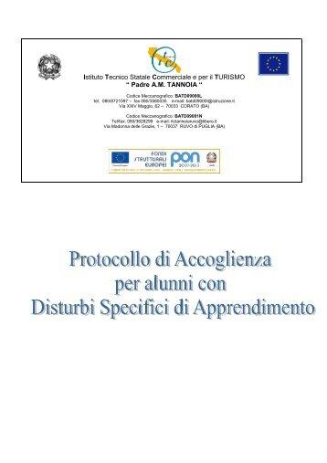 Protocollo di accoglienza per alunni con disturbi ... - ITC Tannoia