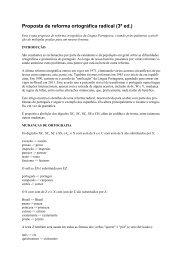 Proposta de reforma ortográfica radical (3ª ed.)